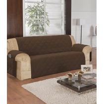 Kit Capas Protetores Sofa De 3, 2 E 1 Lugares