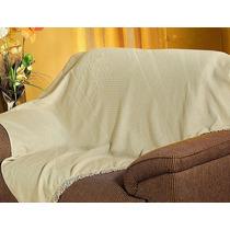 Manta Para Sofá Pérola 200x150cm Natural Bordart 68257335