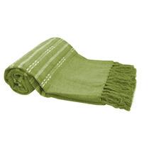 Manta Para Sofá Chenille Finesse 150x140cm Verde Bordart 9