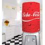 Capa Galão Água 20l Divertida Decoração Cozinha Beba Cola