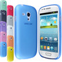 Capa Case 0.3mm Ultra Fina Fosca Para Samsung Galaxy S3 Mini