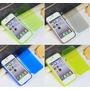 Capa Case Flip Iphone 4 4s Silicone C/ Proteção De Sujeira