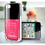 Capa Iphone 5 Esmalte Le V + Película Frontal + Frete Grátis