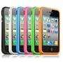Capa Bumper Para Iphone 4/4s - Varias Cores - Melhor Preço.