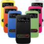 Flip Case S-view Top Premium Samsung Galaxy S Duos S7562