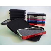Bumper Element Vapor Case Para Iphone 4 + Element Zipper Bag