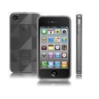 Capa / Case - Tpu Fumê Iphone 4/4s - Grátis Película