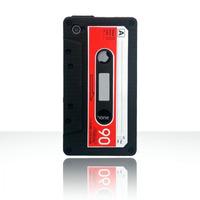 Capa Silicone Iphone 4 - Estilo Fita Cassete