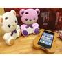 Case Iphone 4/4s Urso Ted 3d.borracha Rígida.luxo.frete Free