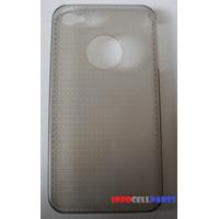 Case Capa Protetora Slim Para Iphone 4g 4s Transparente Fumê