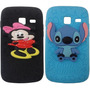 Capinha Samsung Galaxy Y Duos S6102 Minions Minnie Stitch