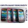 Capa Tpu Galaxy Young Duos Tv S6293 + Película+ Frete Grátis