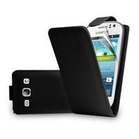 Capa Couro Samsung Galaxy Fame S6812 Preto Capinha Celular