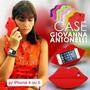 Capa / Case / Boca De Silicone Iphone 4e5 Giovanna Antonelli