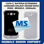 Capa C/ Bateria Estendida Samsung Galaxy Grand Duos 3300mah