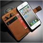 Capa Premium Case Carteira Iphone5 5s 5c De Couro + Pelicula