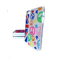 Capa Case Celular Iphone 5 / 5s Fashion Strass Brilho