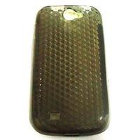 Capa De Celular De Silicone I8 150 Galaxy W Na Cor Fumê