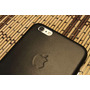 Case/capa Couro Logo Apple Iphone 6 Plus(5.5)+blindagem Buff