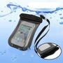 Bolsa Impermeável P/ Iphone 4s 3gs Samsung Ou 140/80mm-cinza