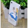 Capa Case Iphone 4,4s Acrilico Transp. Alice