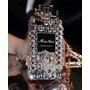 Capa Case Perfume Miss Dior Luxo Pedras Para Iphone 4 / 4s