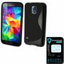 Capa Celular Galaxy S5 Mini Duos G800 + Película De Vidro