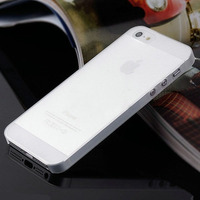 Case Iphone 4/4s Ultra Slim Fosca Transparente +frete Gratis