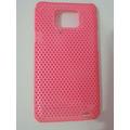 Case Samsung Galaxy S2 I9100 Pink Fluorescente
