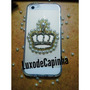 Capinha Case Para Iphone 5/5s Customizada Com Coroa