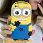 Capa Silicone 3d Iphone 3g 3gs Minion Meu Malvado Favorito
