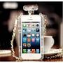 Capinha Capa Case Chanel Paris Luxo Perfume Iphone 5 5s 5c