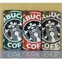 Capa Case Iphone 4 4s Star Starbucks +pelicula Varios Modelo