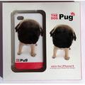 Capa Case Apple Iphone 4 4s The Pug Dog Ultra Slim Proteção