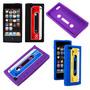 Capa Para Iphone 5/5s Fita K7 Retro Colorida Melhor Preço