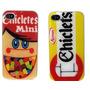Capa Case Esmaltada Chicletes Trident Iphone 4 4s +película
