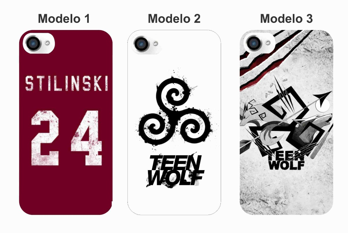 Capinha Case Capa Teen Wolf - Iphone 4/4s, 5/5s, 5c - R$ 31,90 no ...