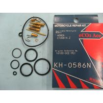 Reparo Carburador C100 Biz 98-04 Honda Keyster