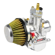 Kit Competição Carburador Koso Powerjet 24mm + Filtro De Ar