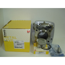 Kit Titan 150 Cilindro Motor,pistao,anéis,pino Metal Leve