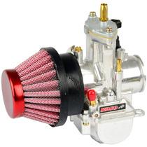 Kit Competição Carburador Koso 34mm + Filtro Ar Esportivo