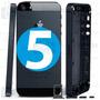 Carcaça Metal Aro Chassi Iphone 5 5g Tampa Traseira + Botões