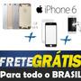 Carcaça Aro Iphone 6 Chassi4.7 Tampatraseira +botões + Vidro