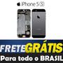 Carcaça Completa Iphone 5s Preta Tampa Traseira Original