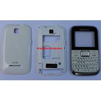 Carcaça Motorola Ex108 Branco Completa Original Frete R$7.00
