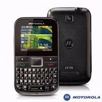 Carcaça Motorola Ex108 Preta Completa Pronta Entrega