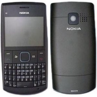 Carcaça Preta Nokia X2-01 Completa Frete Grátis Brasil