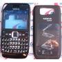 Carcaça Nokia E63 Preto Completa + Teclado + Botões