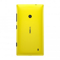 Tampa Traseira Capinha Nokia Lumia 520 Amarela - Original