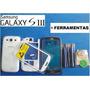 Carcaça Completa Galaxy S3 I9300 Original, Tampa, Vidro, Aro